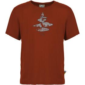 E9 Equilibrium T-Shirt Uomo, rosso